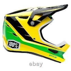 100% Prozent Status Downhill DH BMX Helm Fahrrad MTB Mountain Bike Full Face