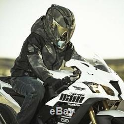 2019 Master Chief Motorbike Icon Airflite Battlescar 2 Motorcycle Crash Helmet