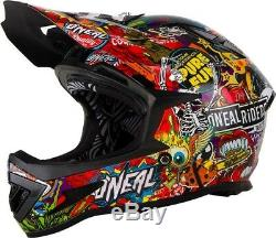 2019 O'Neal Adult Warp Crank Bicycle Full Face Helmet Mountain Bike MTB