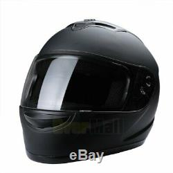 2019 Safety DOT Motorcycle Full Face Helmet Motorbike Racing Sports M / L / XL