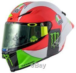 2019 #motogp #vr46 Rossi Italy Mugello Tricolore Agv Pista Gpr Race Crash Helmet