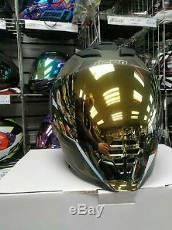 2020 Master Chief Battlescar 3 Icon Airflite Blockchain Motorcycle Crash Helmet