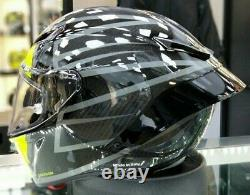 2020 Motorcycle Race Crash Safety Helmet Gloss Carbon 46 Essenza Agv Pista Gp-rr
