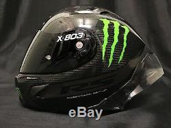 2020 X-Lite X803 RS HOT LAP Carbon Dark Visor Motorbike Helmet Monster