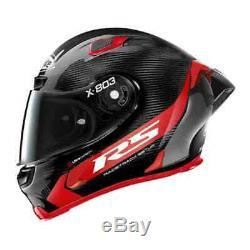 2020 X-Lite X803RS Carbon Hot Lap & Dark FREE Visor Motorbike Helmet V4
