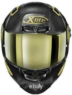 2021 #motogp X-lite X-803 Rs Carbon Limited #gold Edition Motorcycle Race Helmet