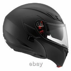 AGV Compact ST Matt Black Motorcycle Helmet Free Dark Visor Worth £69.99
