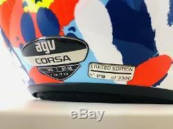 AGV Corsa Misano Hands 2014 Valentino Rossi LE Size Medium / Small