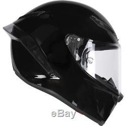 AGV Corsa R E2205 Solid Full Face Motorcycle Helmet S Black Motorbike Race Track
