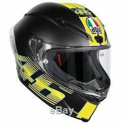 AGV Corsa-R Graphic Motorcycle Helmet V46 Matt Black Size L / 60cm 206102-60