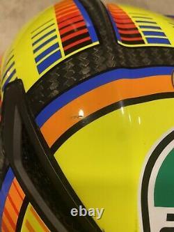AGV Corsa R Valentino Rossi Helmet Soleluna Size M