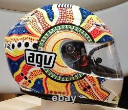 AGV GP-Tech Dream Time Rossi motorcycle helmet NO SALES TAX Option Medium