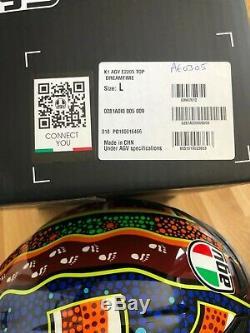 AGV K-1 Valentino Rossi Dreamtime Replica Full Face Motorcycle Helmet K1 L