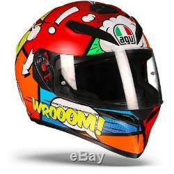 AGV K-3 SV Balloon Full Face Motorcycle Helmet Free Shipping