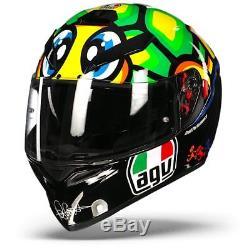 AGV K-3 SV Tartaruga Turtle Valentino Rossi Motorcycle Helmet Free Shipping