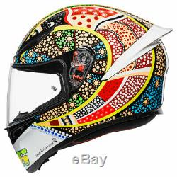 AGV K1 Dreamtime Valentino Rossi Replica Full Face Motorbike Motorcycle Helmet