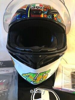 AGV K1 K-1 Dreamtime Full Face Motorcycle Helmet FREE PINLOCK