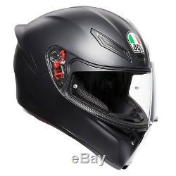 AGV K1 Matt Black Motorbike Helmet