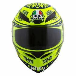 AGV K1 WINTER TEST 2015 Sport Helmet (Fluo YellowithBlue) Choose Size