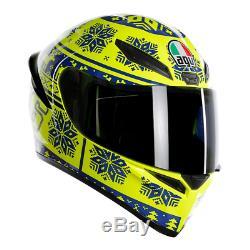 AGV K1 WINTER TEST ROSSI Motorcycle Motorbike Helmet EXTRA LARGE 61/62