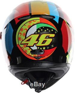 AGV K3 SV ELEMENTS Full-Face Motorcycle Helmet (Multi) L (Large)