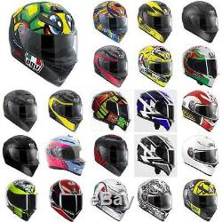 AGV K3 SV Full Face Sports Touring Road Motorcycle Helmet All Colours & Sizes
