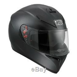 AGV K3-SV Matte Black Motorcycle Helmet