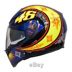 AGV K3 SV Motorcycle Helmet Rossi 2002