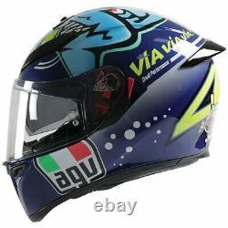 AGV K3 SV-S Rossi Misano 2015 ML 58 UK Stock 2021 NEW