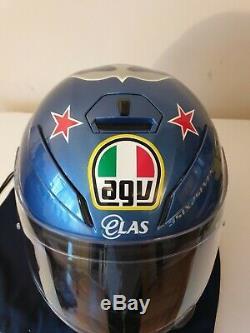 AGV K5-S Guy Martin 3Some Motorcycle Motorbike Helmet size M