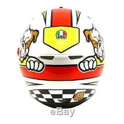 AGV Motorbike Motorcycle Sports K-3 SV Marini Helmet Red / Green / Blue