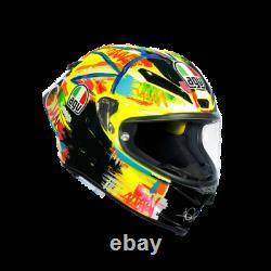 AGV PISTA GP R Full Face Motorcycle Helmet Festival Color Carbon Fiber Made