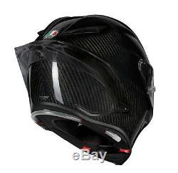 AGV PISTA GP-R Gloss 100% CARBON FIBRE Motorbike Racing Helmet
