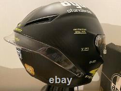 AGV PISTA GP V. ROSSI MATT CARBON Black PROJECT 46 MOTORCYCLE Crash Helmet Sz ML