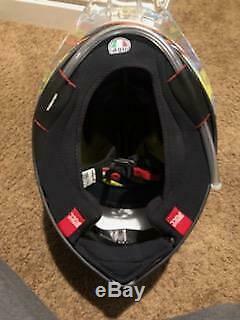 AGV Pista GP R Carbon Full-Face Motorcycle Helmet (Rossi Soleluna 2016)