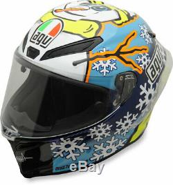 AGV Pista GP R Carbon Full-Face Motorcycle Helmet (Rossi Winter Test 2016) Large