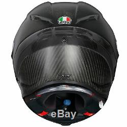 AGV Pista GP-R Carbon Matt Black Motorcycle Motorbike Helmet