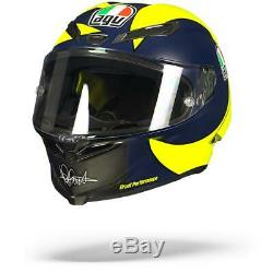 AGV Pista GP R Soleluna 2018 Rossi VR46 Racing Helmet New! Free Shipping