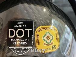 AGV Pista GP-RR Glossy Carbon Motorbike Motorcycle Helmet