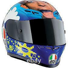 AGV Rossi GP-Tech VALENTINO'S FACE Ltd Ed motorcycle helmet Numbered New Lg XL