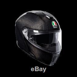 AGV Sport Modular Mono Gloss Carbon Black