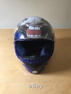 AGV Valentino Rossi 46 THE DONKEY Helmet Size M