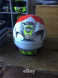 AGV Valentino Rossi Ti Tech Helmet, 2007 love Mugello Special vgc
