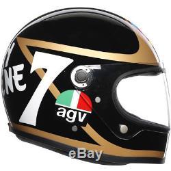 AGV X3000 Barry Sheene Tribute Replica Legends Motorcycle Helmet All Sizes