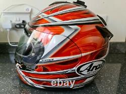 ARAI CHASER SAFETY HELMET SIZE SMALL 55 56 CM hardly worn, no marks on helmet