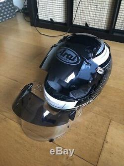 ARAI QUANTUM ST PRO BLACK MOTORCYCLE HELMET -Large
