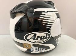 ARAI REBEL VENTURI Full Face MOTORYCLE Crash Helmet Sz MEDIUM 57cm M