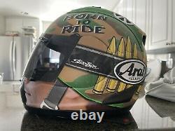 ARAI RX-7 Corsair V GP Nicky Hayden Camo