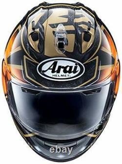 ARAI RX-7X PEDROSA SAMURAI SPIRIT Gold M(57-58cm) motor helmet RX 7V/CORSAIR X