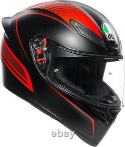 Agv Helmet K1 Warm Mbk/red ML 0281o2i0002008